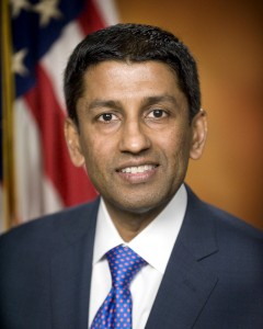 U.S. Deputy Solicitor General Sri Srinivasan is pictured in this undated file photo courtesy of the United States Department of Justice. President Barack Obama has a number of likely options as he looks for a nominee to the U.S. Supreme Court to replace Justice Antonin Scalia, who died on February 13, 2016. Among those the administration could turn to are Srinivasan, who has served on the U.S. Court of Appeals for the District of Columbia Circuit since May 2013; Jacqueline Nguyen, a Vietnamese-American who has been a judge on the San Francisco-based 9th U.S. Circuit Court of Appeals since May 2012; Paul Watford, an African-American who is also a judge on the 9th U.S. Circuit Court of Appeals; and Jane Kelly, a white woman and former public defender who has served on the St. Louis, Missouri-based 8th U.S. Circuit Court of Appeals since April 2013. United States Department of Justice/Handout via Reuters/Files ATTENTION EDITORS - THIS IMAGE WAS PROVIDED BY A THIRD PARTY. FOR EDITORIAL USE ONLY. NOT FOR SALE FOR MARKETING OR ADVERTISING CAMPAIGNS. THIS PICTURE IS DISTRIBUTED EXACTLY AS RECEIVED BY REUTERS, AS A SERVICE TO CLIENTS - RTX26TOP